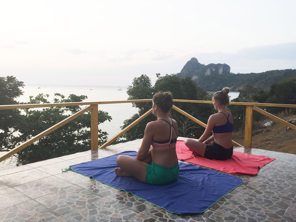 méditation à Koh phi phi